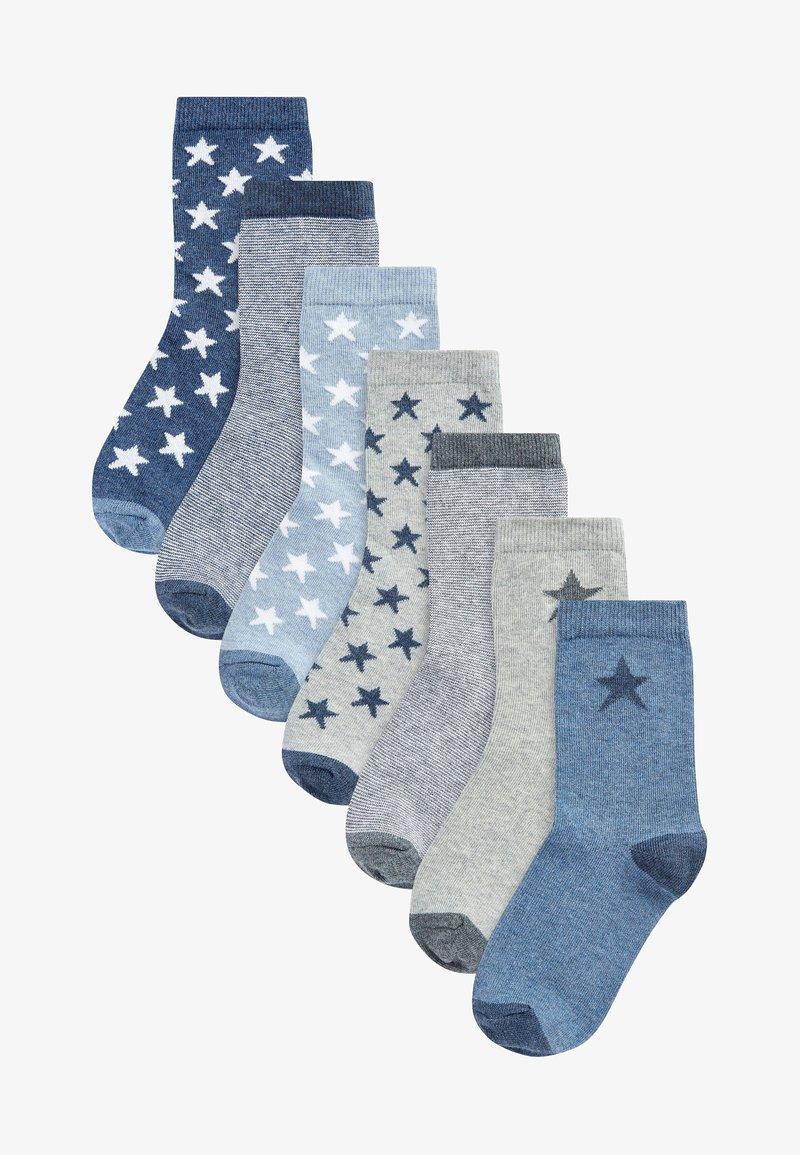 Next - 7 PACK - Socks - blue