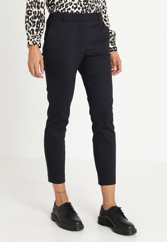 GRACE PANTS - Pantaloni - navy