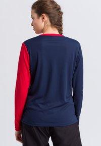 Erima - Sports shirt - navy/red/white - 2