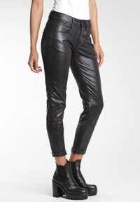 Gang - RELAXED FIT - Trousers - black - 2