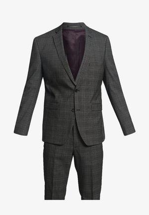 WINTER CHECK - Kostym - dark grey