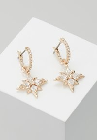 Swarovski - SYMBOL MINI HOOP STAR  - Earrings - gold-coloured - 0