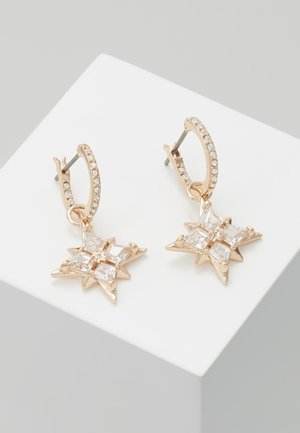 SYMBOL MINI HOOP STAR  - Earrings - gold-coloured