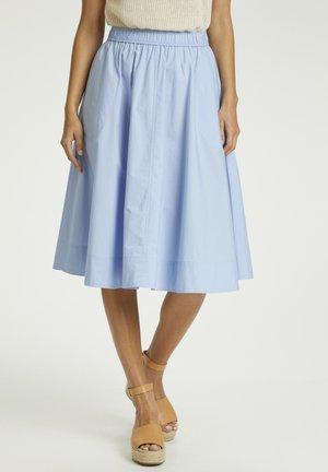 A-line skirt - brunnera blue