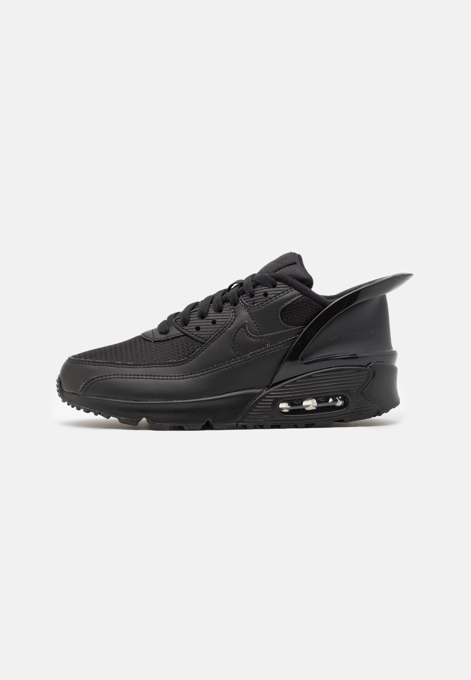 Nike Sportswear AIR MAX 90 FLYEASE UNISEX - Baskets basses - black ...