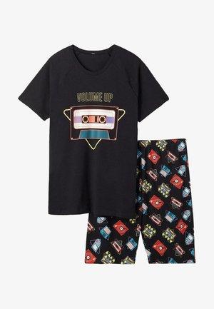 SET - Pyjama - schwarz u  nero st volume up