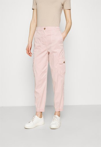 ULTIMATE - Cargo trousers - light pink