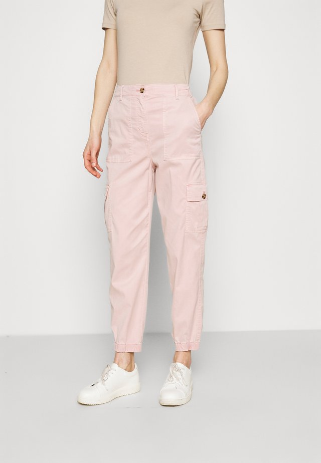 ULTIMATE - Pantalones cargo - light pink