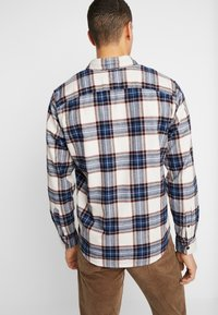Abercrombie & Fitch - ICON TARTAN PLAID  - Camicia - cream plaid