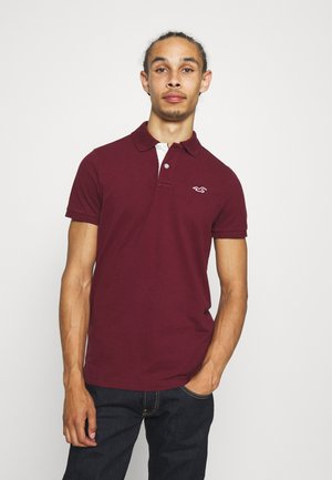 Polo shirt - burgundy