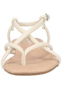 Scapa - T-bar sandals - ecru - 5