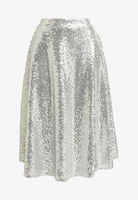NA-KD - ZALANDO X NA-KD - A-snit nederdel/ A-formede nederdele - silver - 5