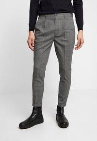 Piazza Italia - PANTALONE SLIM FIT - Trousers - grigio - 0