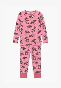 Småfolk - GIRL DEER  - Pyjama set - sea pink - 0