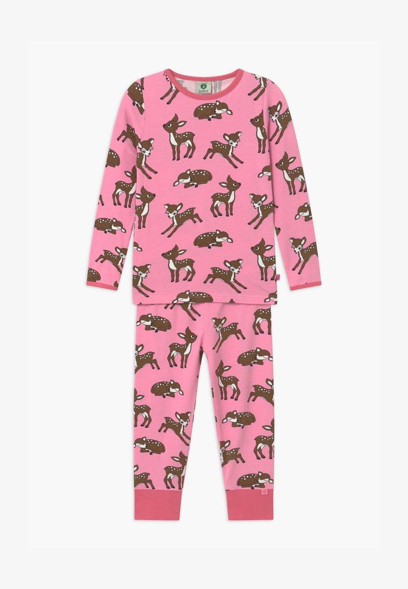 Småfolk - GIRL DEER  - Pyjama set - sea pink