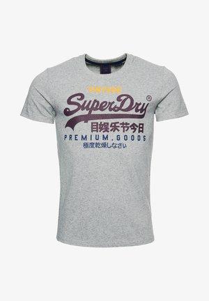 T-Shirt print - silver glass feeder