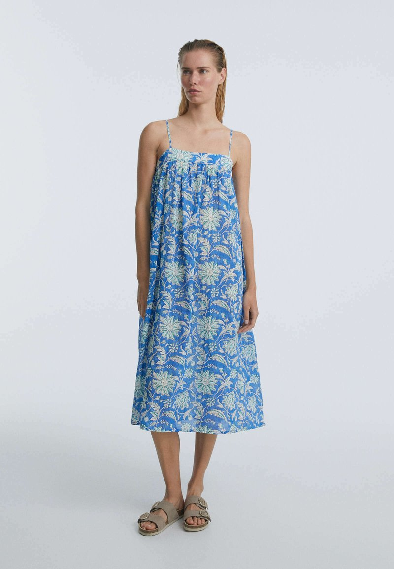 OYSHO - Day dress - blue
