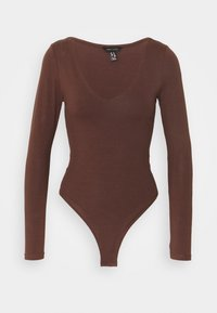 New Look - Long sleeved top - dark brown - 0