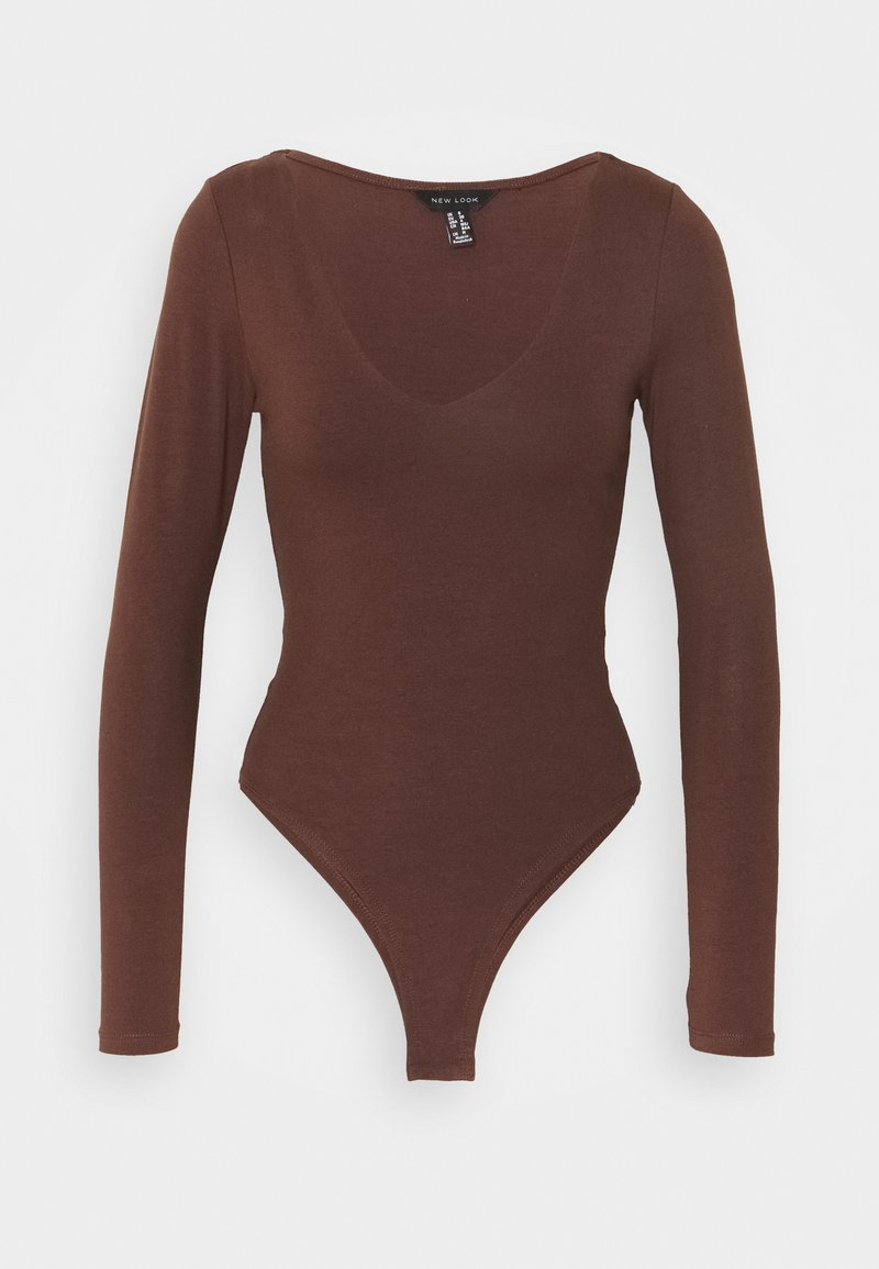 New Look - Long sleeved top - dark brown