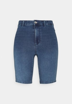 ONLROYAL BIKE - Denim shorts - medium blue denim