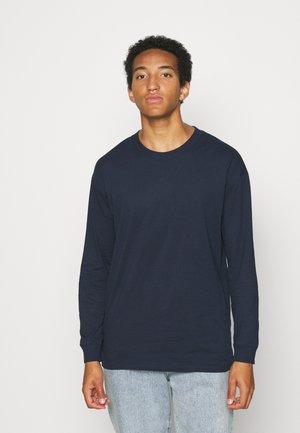 JORBRINK TEE CREW NECK - Pitkähihainen paita - navy blazer
