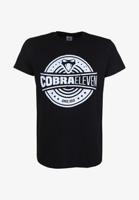 COBRAELEVEN - Print T-shirt - black - 3