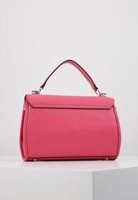 Guess - LIAS TOP HANDLE FLAP - Handbag - pink - 2
