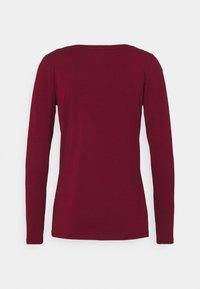 Esprit - CORE - Maglietta a manica lunga - bordeaux/red - 1
