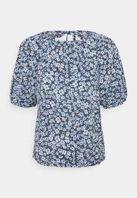 ONLY - ONLPELLA OPEN BACK - Print T-shirt - vintage indigo - 0