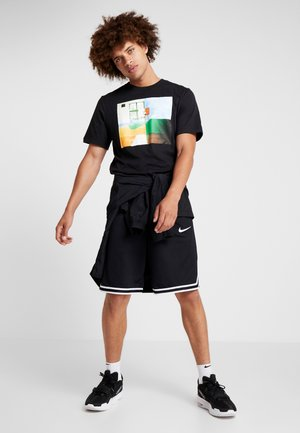 DRY TEE PHOTO - Print T-shirt - black