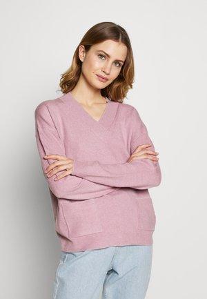 LANGARM - Sweter - rose