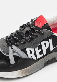 Replay - SPORT LOUD - Trainers - black/white/red - 3