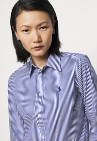 Polo Ralph Lauren - STRETCH - Button-down blouse - navy/white - 3