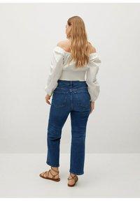 Violeta by Mango - ELIA - Straight leg jeans - middenblauw - 2