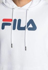 Fila - PURE HOODY - Huppari - bright white - 4