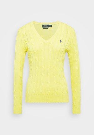 CLASSIC - Svetr - lemon