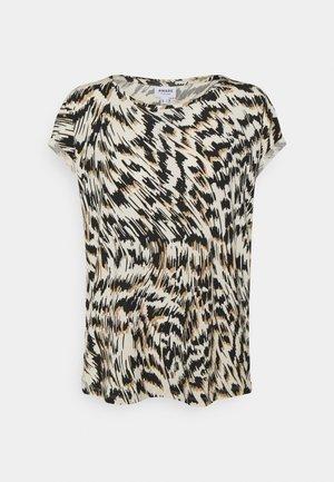 VMAVA PLAIN TOP MULTI  - Print T-shirt - birch/mille