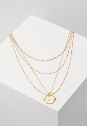 PCMISSIMA COMBI NECKLACE - Halskæder - gold-coloured