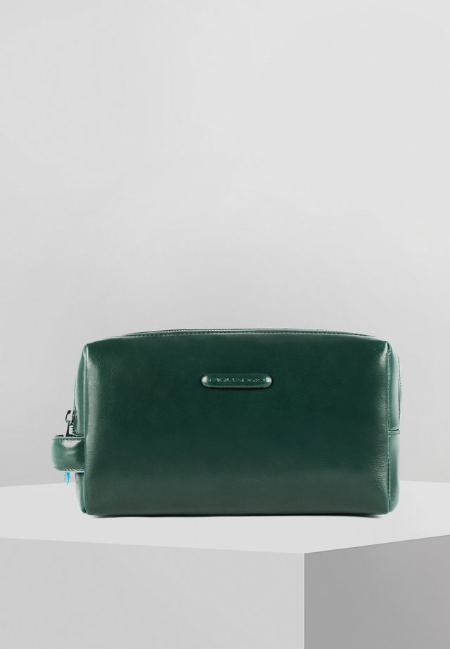 Wash bag - forest green