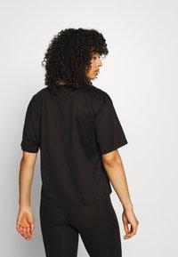 KARL LAGERFELD - MERCERIZED LOGO  - Nachtwäsche Shirt - black - 2