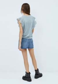 Pepe Jeans - CLARA - Print T-shirt - blue/grey - 2