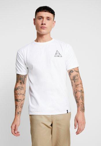ESSENTIALS TEE - T-shirt med print - white