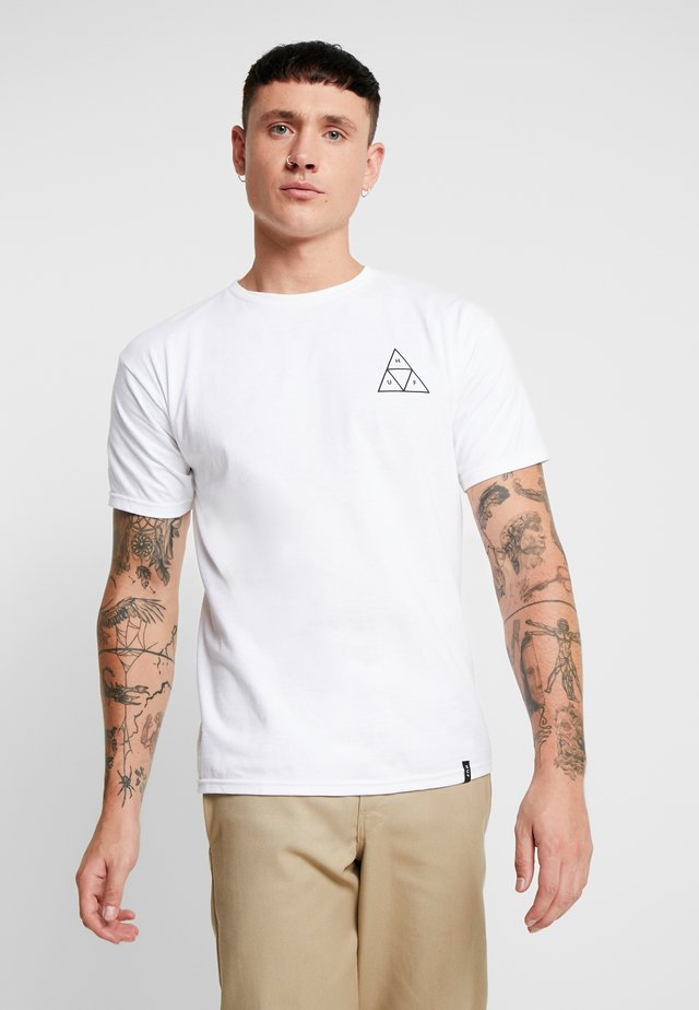 ESSENTIALS TEE - T-shirt imprimé - white