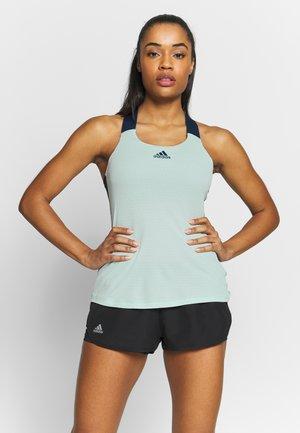 TANK - Sports shirt - dash green/tech indigo