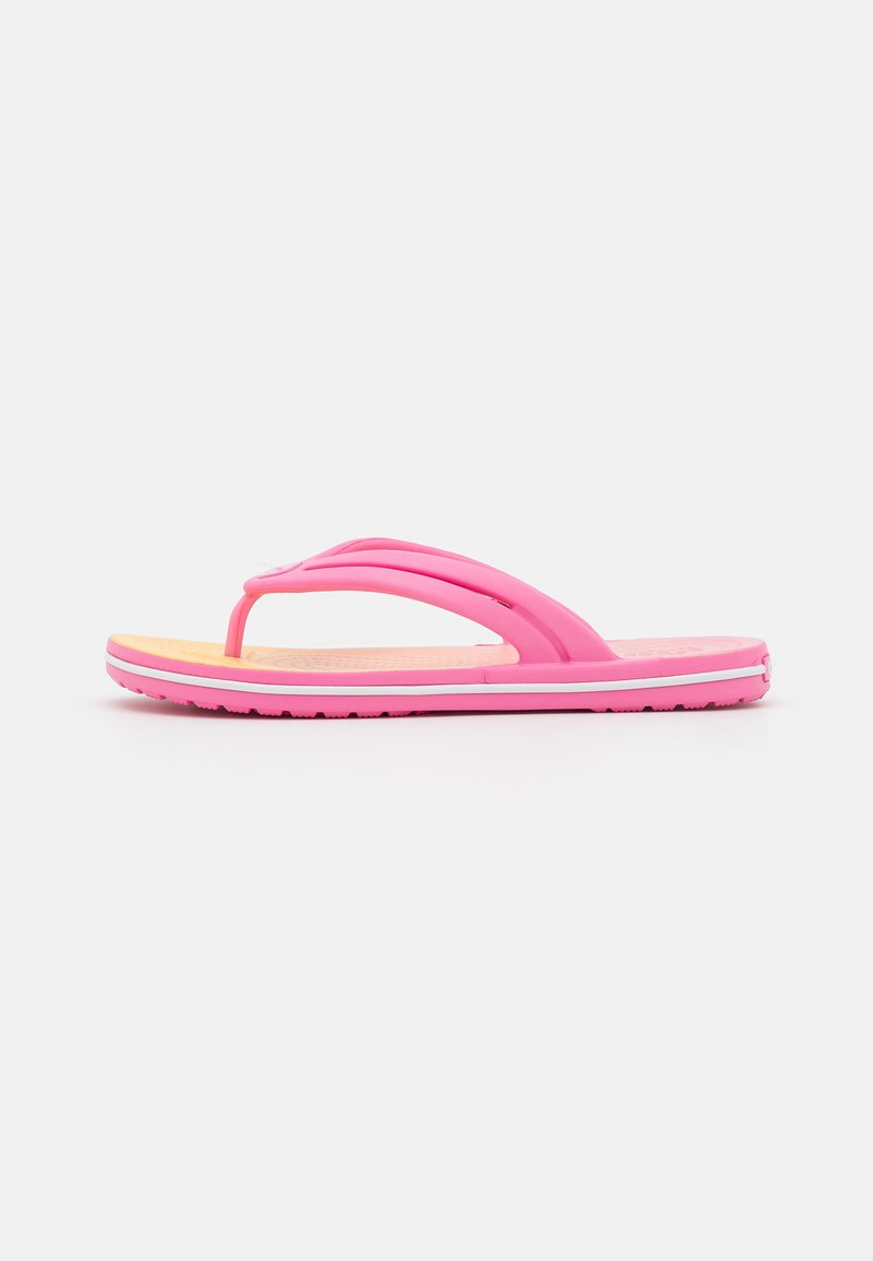 Crocs - OMBRE FLIP  - Pool shoes - pink lemonade/multicolor