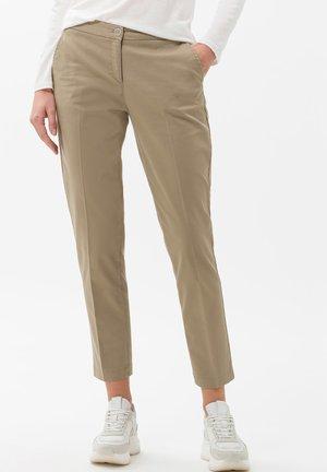 STYLE MARON - Pantalon classique - khak