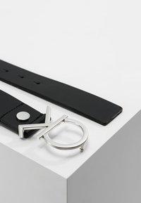 Calvin Klein - LOGO BELT - Pásek - black - 2