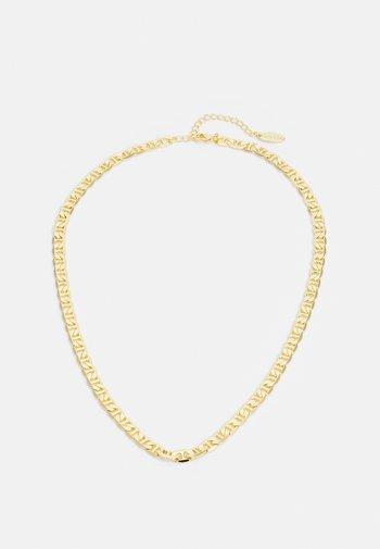 GRECIAN CHAIN NECKLACE - Naszyjnik - pale gold-coloured