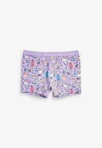 Next - 3 PACK UNICORN SHORTS - Pants - pink - 2