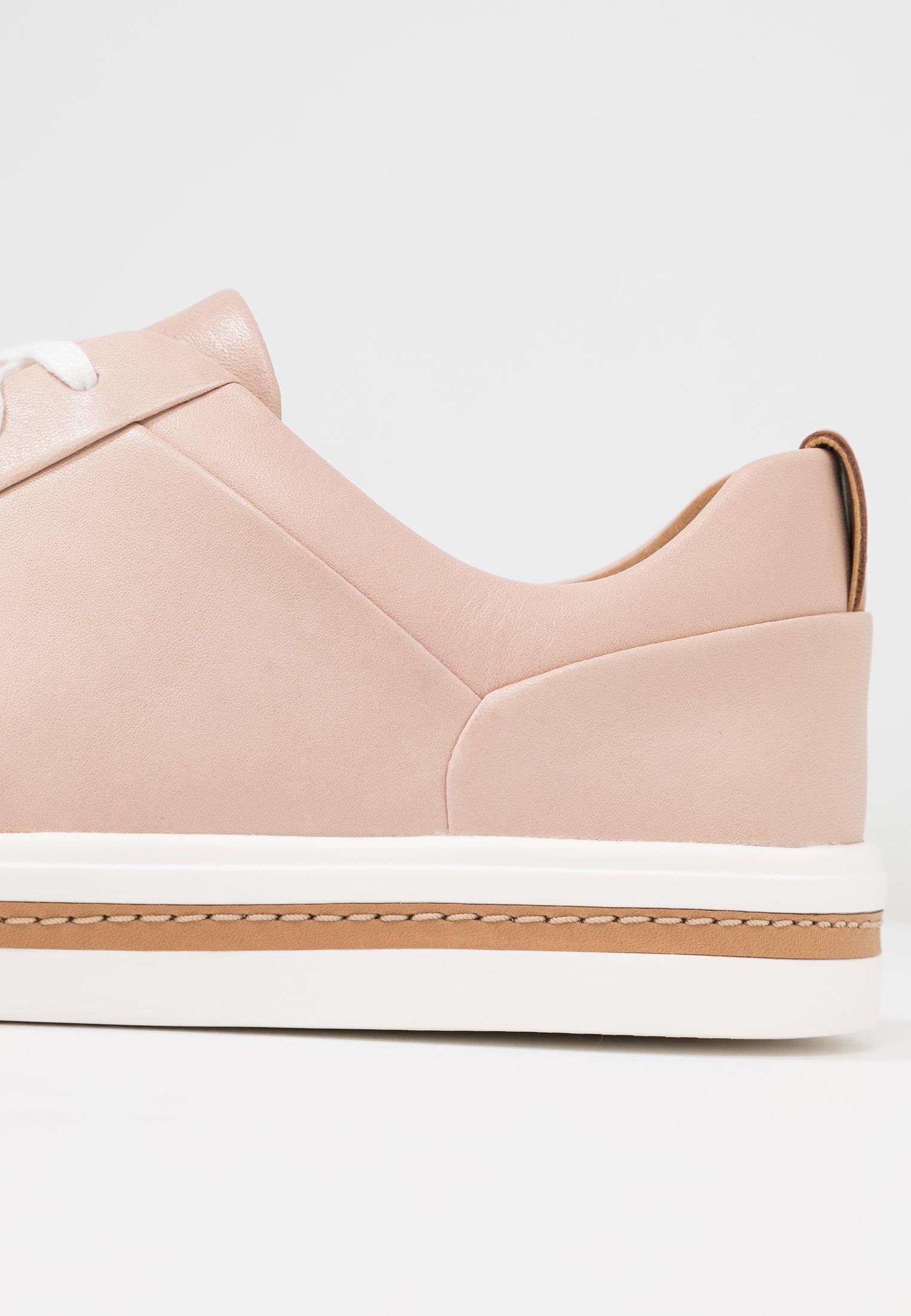 Clarks Unstructured UN MAUI LACE - Baskets basses - nude - Sneakers femme Dernier